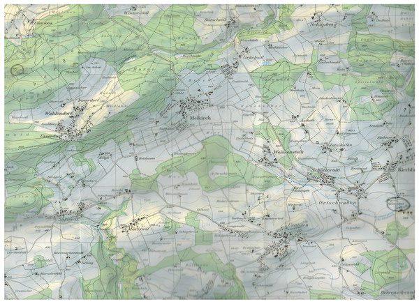 Karte Herbstwanderung
